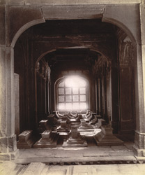 Family vault in the east verandah of Islam Khan's Tomb, Fatehpur Sikri